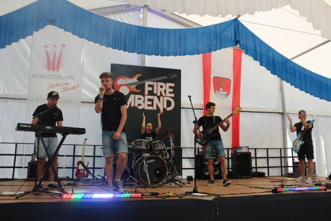 FIRE ABEND - Die Partyband aus Königsbrunn (Augsburg)